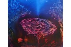 Rose In Moonlight